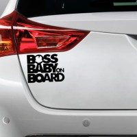 Sticker Decal Cutting Vinyl Boss Baby on Board