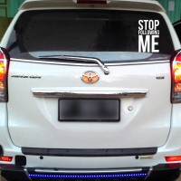 Sticker Decal Mobil Cutting Vinyl Reflektif Stop Following Me
