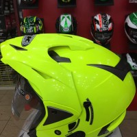 Helm INK Tmax Yellow Fluo Glossy T-MAX Double Visor