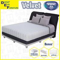 Kasur Velvet 180x200 - Spring Air Springbed (hanya matras)