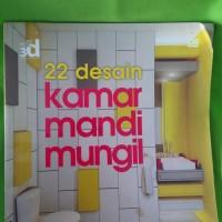 buku 22 desain kamar mandi mungil