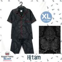 Piyama Pria Dewasa XL Celana Panjang Katun - 01