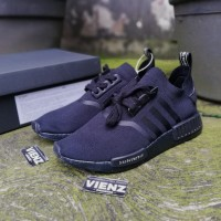 9ac9073709222 Adidas NMD R1 PK JAPAN ALL BLACK ORIGINAL UNAUTHORIZED U.A BNIB