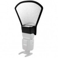 Flash Diffuser Reflector Universal untuk SLR - Black