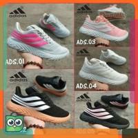 Sepatu Sneakers Casual Sport Wanita Adidas Sobakov  0296fae6ab