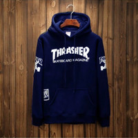NEW Sweater Hoodie Pria Thrasher Brooklyn 77 Promo