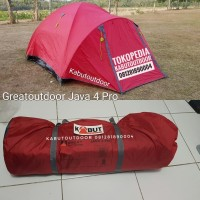 Tenda Greatoutdoor Java 4 Pro / Tenda Camping Dome GO Java 4 Pro