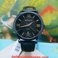 JAM TANGAN PRIA BONIA ROSSO BNR166-1733 BLACK ORIGINAL MURAH