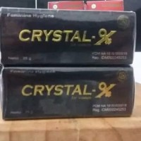 CRISTAL X ampuh obati keputihan