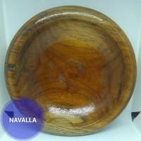 Cowet kayu/ Piring kayu/ Mangkuk kayu bahan jati