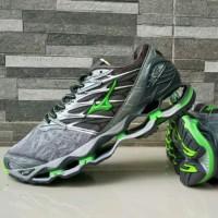 Sepatu Mizuno Wave Prophecy Grey Green Premium Quality
