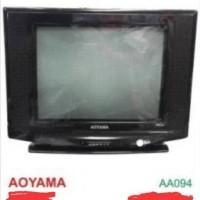 "TV TABUNG AOYAMA 14"" MURAH + FREE ANTENA"