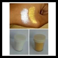 Super Hemat Serbuk Powder Gold Dan Silver Shine Untuk White Henna Dll