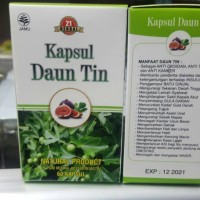 Kapsul Daun Tin Herbal21 Original