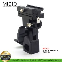 Kamera Flash Holder Type B Midio