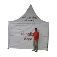 Tenda Sarnafil / Kerucut Full Dinding 3x3 Meter