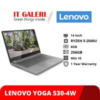 Laptop LENOVO YOGA 530-4WID - Black