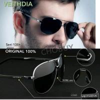 VEITHDIA kacamata Polarized anti silau UV Original seri 1306 full set