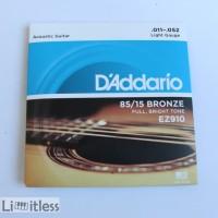 Senar Gitar Dadario String Ez900 Dan Ez910