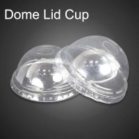 Dome Lid / Tutup Cembung Gelas Plastik PP Poly Clear