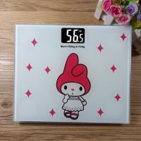 Timbangan Badan Digital Desain Kartun 180Kg - BD-DZM308 white rabbit t