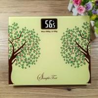 Timbangan Badan Digital Desain Kartun 180Kg - BD-DZM308 green tea prom