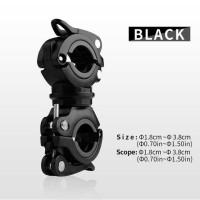 CoolChange Clamp Penjepit Senter Stang Sepeda - 02011 - hitam