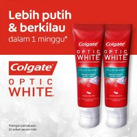 Colgate Optic White Plus Shine Toothpaste/Pasta Gigi 100gr - Twin