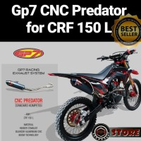 KNALPOT GP7 CRF TYPE CNC PREDATOR