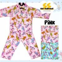 Harga piyama anak lengan panjang baju tidur anak katun premium | antitipu.com