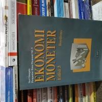 Ekonomi moneter edisi 3 by Boediono