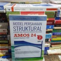 Model persamaan struktural AMOS 24 By Prof dr Imam Gozhali