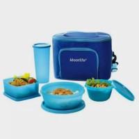 Harga lunch set kotak makan anak dewasa moorlife like   Pembandingharga.com