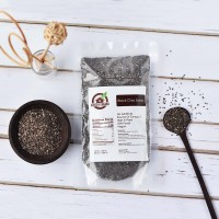 Organic Black Chia Seeds 300 Gr