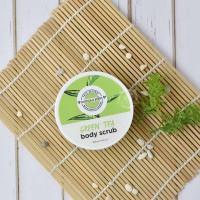 Wangsa Jelita Green Tea Body Scrub 150 Gr