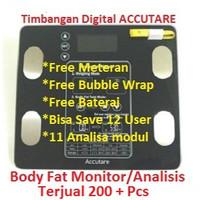 Timbangan Badan Digital Body Fat Monitor Body Fat Analisis - Accutare