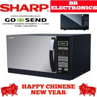 microwave sharp R-728(K)IN (hitam)