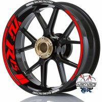 Stiker Velg Sticker Decal Motor YZF R15 Yamaha Racing Factory warna