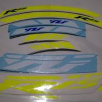 Stiker Velg Sticker Decal Motor Yamaha YZF R25 bisa custom jadi R6 R