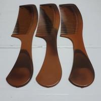 Sisir gagang 12 pcs coklat BSR