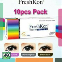 Harga freshkon softlens warna harian one day daily disposable ready | Pembandingharga.com