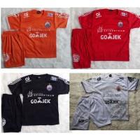 Setelan Baju Bola anak Persija Liga 1 Indonesia