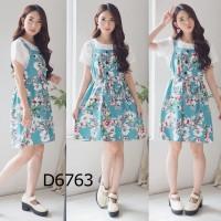 Set Midi Floral Dress D6763