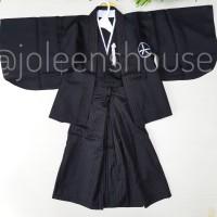 Boys Kimono Hakama Samurai Baju Kostum Jepang Anak Laki