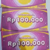 Voucher Hypermart 100.000 murah