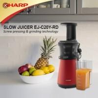 SHARP Slow Juicer EJ-C20Y-RD