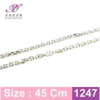 Harga kalung etnik rantai lapis emas putih perhiasan imitasi yaxiy | Pembandingharga.com
