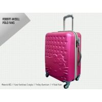 Travel Koper Kabin Termurah Hardcase ABS fiber Hello Kitty 4roda,20
