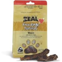 Zeal Free Range Naturals Wags Calf Tail Dog Treats 125g