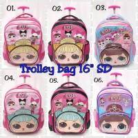 Trolley Bag / Tas troli anak SD cewek LOL